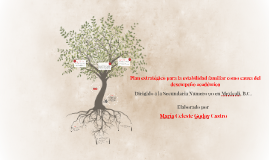 Copy of Plan estratégico para la estabilidad familiar como causa del