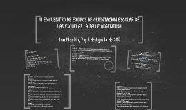 III JORNADAS DE EQUIPOS DE ORIENTACIÓN ESCOLAR DE LAS ESCUEL