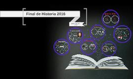 final de Historia 2016