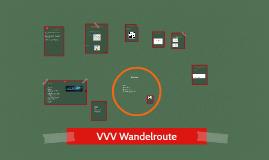 VVV Wandelroute