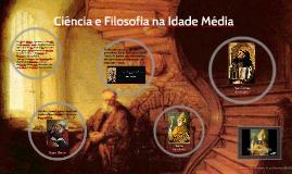 Ciência e Filosofia na Idade Média