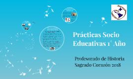 Prácticas Socio Educativas 1° Año