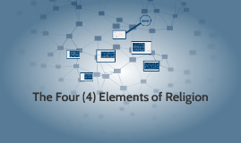 Copy of The Four (4) Elements of Religion