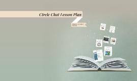 Circle Chat Lesson Plan