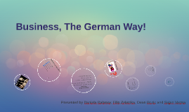 Germany Business Policy