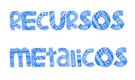 Recursos metalicos