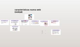 caracteristicas nueva web DARSIE