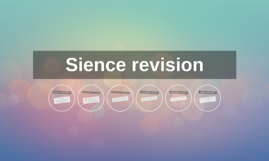 Sience revision