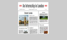 An Internship in London