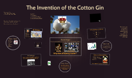 Unit 2A LP 4 Part 1 The Invention of the Cotton Gin