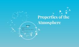 Properties of the Atmosphere