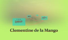 Clementine de la Mango
