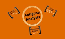 Antigone Analysis