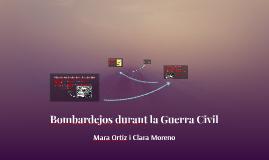 Bombardejos durant la Guerra Civil