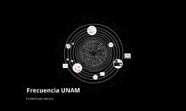 Frecuencia UNAM
