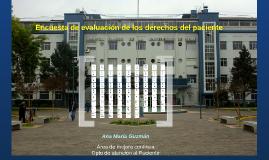 Informe encuesta de evaluación DDP