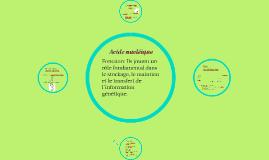 Les acides nucléiques -Gr2