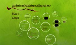 Nederlands Deltion College Mode