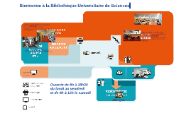 Visite de la BU Sciences. UJM. Saint-Etienne