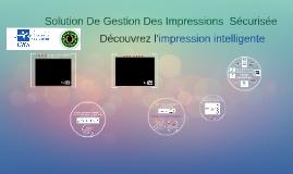 Equitrac - Solution De Gestion Des Impressions