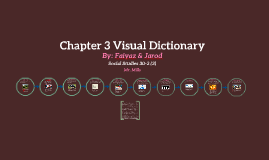 Chapter 3 Visual Dictionary
