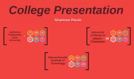 College Presentation