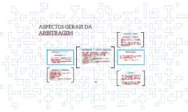 ASPECTOS GERAIS DA ARBITRAGEM