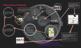 Historia de las profesiones