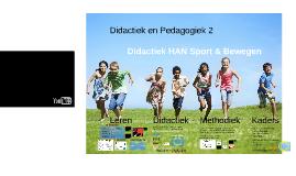 HC5 Didactiek en Pedagogiek/ Sportkunde