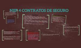 Copy of NIIF 4 CONTRATOS DE SEGURO