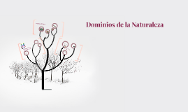 Dominios de la Naturaleza