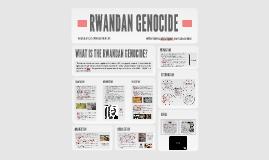 Genocide Project: Rwanda