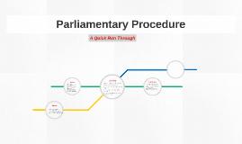 essays on parliamentary procedure