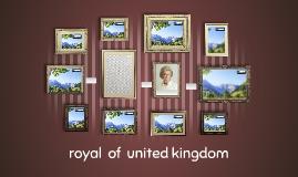 royal  of  united kingdom