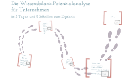Potenzialanalyse Wissensbilanz