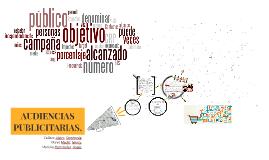 AUDIENCIAS PUBLICITARIAS.