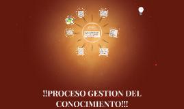 GESTION DEL CONOCIMIENTO!!!