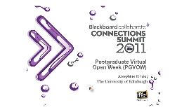 Postgraduate Virtual Open Week