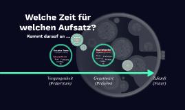 Aufsatz in Deutsch