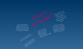 Goals of AP Language and Composition