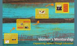 Women's Mentorship