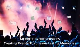 Merritt Event Services