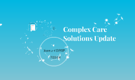 Complexcare Solutions Update