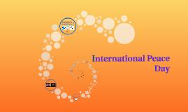 Copy of International peace