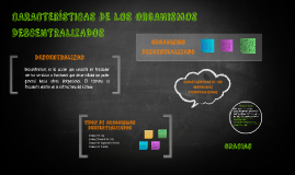 Copy of CARACTERÍSTICAS DE LOS ORGANISMOS DESCENTRALIZADOS