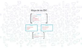 Mapa de un IDC
