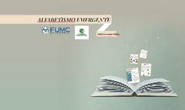 ALFABETISMO EMERGENTE