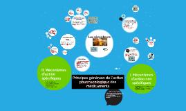 Copy of Principes généraux de l'action pharmacologique des médicamen
