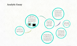 Analytic Essay
