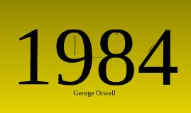 1984 Novel presentation